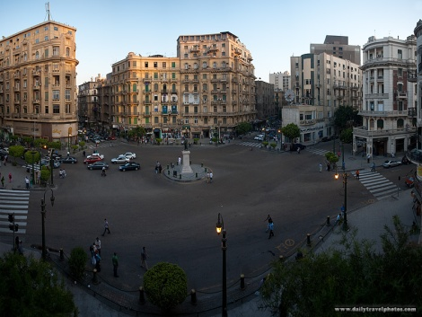Talaat Harb Square Evening